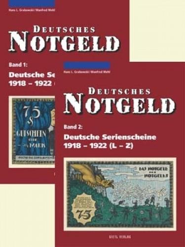 Deutsches Notgeld Band 1+2, Deutsche Serienscheine 1918-1922