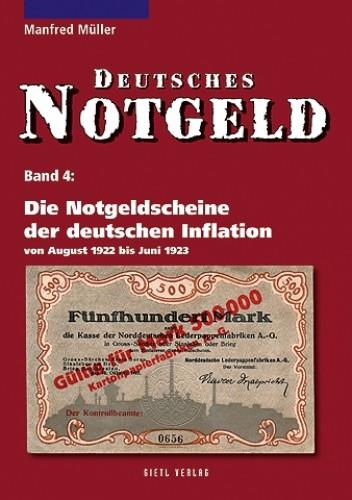 Deutsches Notgeld Band 4, Die Notgeldscheine der deutschen Inflation 1922