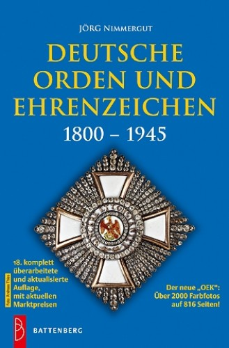 Deutsche Orden und Ehrenzeichen 1800-1945