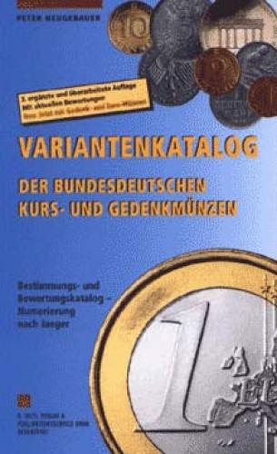 Variantenkatalog der Bundesdeutschen Kurs- und Gedenkmünzen (antiquarisch)