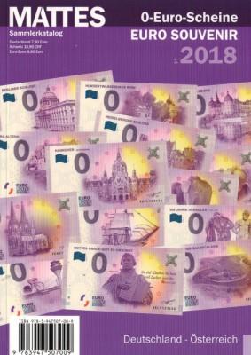 0-Euro-Scheine 2018 (antiquarisch)