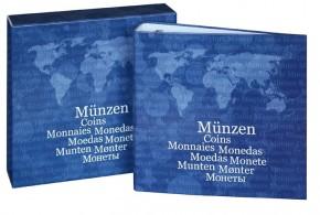 Münzen-Album inkl. Münzenblätter und Kassette BASIC