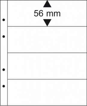 Multi collect Münzenblätter - Banknoten - 4 Streifen