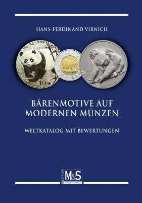 Bärenmotive auf modernen Münzen