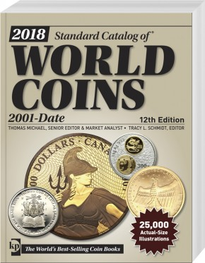 2018 Standard Catalog of World Coins 2001 - Date