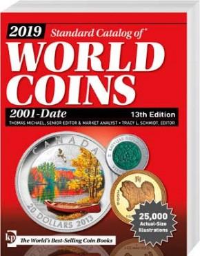 2019 Standard Catalog of World Coins 2001 - Date