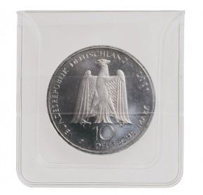 Münzen-Taschen aus PVC-Folie glasklar