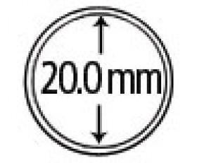 Münzendosen (Münzkapseln) 20 mm