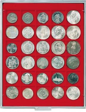 Münzenbox (quadratische Vertiefungen) 38 mm Ø
