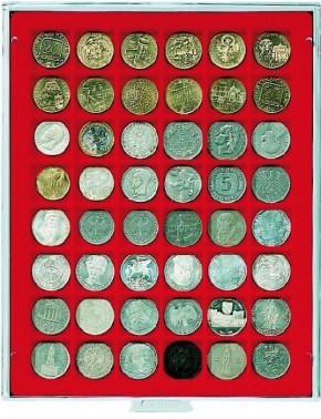 Münzenbox (quadratische Vertiefungen) 30 mm Ø