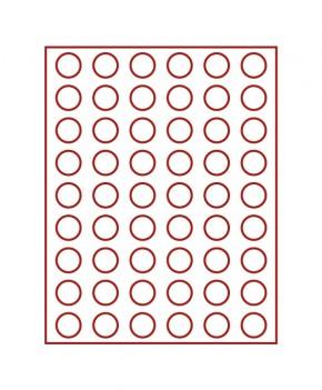 Münzenbox (runde Vertiefungen) 25.75 mm Ø