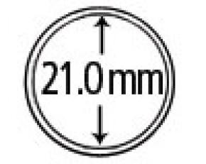 Münzendosen (Münzkapseln) 21 mm