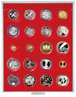 Münzenbox (quadratische Vertiefungen) 51 mm Ø