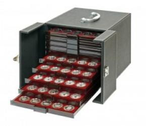 Münzenkoffer für 10 Münzboxen NERA MB 10