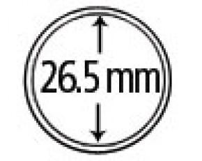 Münzendosen (Münzkapseln) 26.5 mm