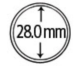 Münzendosen (Münzkapseln) 28 mm