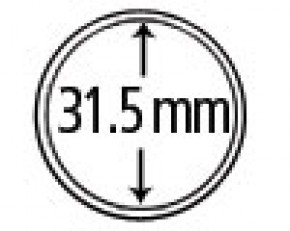 Münzendosen (Münzkapseln) 31.5 mm