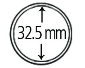 Münzendosen (Münzkapseln) 32.5 mm