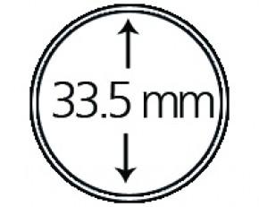 Münzendosen (Münzkapseln) 33.5 mm
