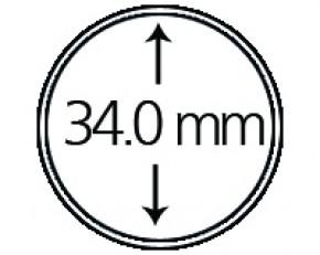 Münzendosen (Münzkapseln) 34 mm