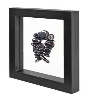 NIMBUS 150, schwarz (150x150x25mm)
