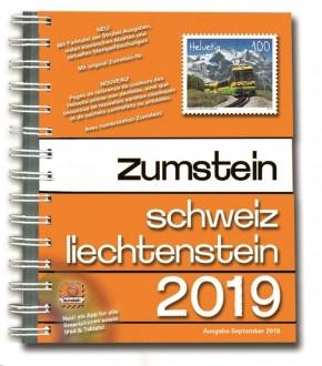Zumstein Schweiz/Liechtenstein 2019 (Spiralbuch)