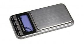 Digitale Taschenwaage, Präzision bis 0.1 g, inkl. Batterien