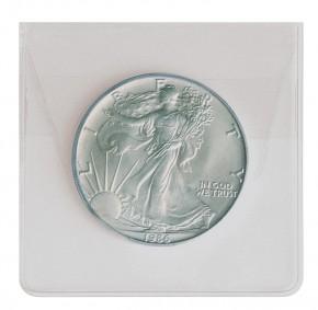 Münzen-Hüllen aus PVC Folie