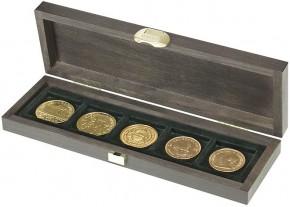 Echtholzkassette mit 5 Fächern