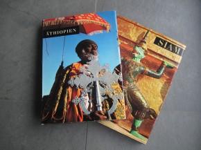 Äthiopien und Siam - Silva-Bücher