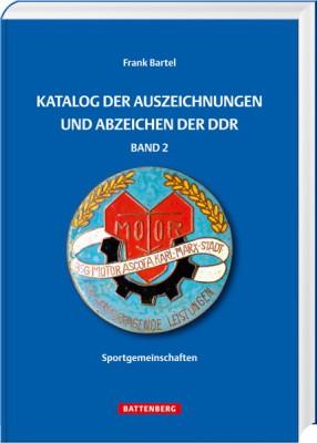 Katalog der Auszeichnungen und Abzeichen der DDR - Sportgemeinschaften