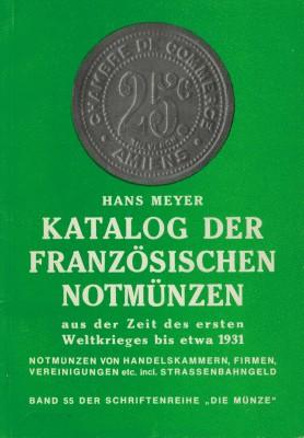 Katalog der französischen Notmünzen (antiquarisch)