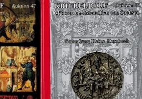 Kricheldorf Auktionskatalog Auktion 47 und 28