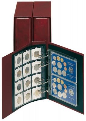 Münzenblätter universal für 50 x 50 Münzrähmchen