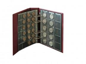 Münzenblätter universal für 24 Münzen bis 34 mm Ø