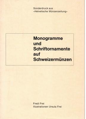 Monogramme und Schriftornamente auf Schweizer Münzen