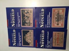 Deutsches Notgeld Band 1 - 4 (4 Bände) (antiquarisch)