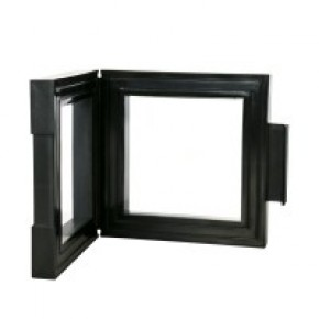 NIMBUS 70, schwarz (70 x 70 x 25 mm)