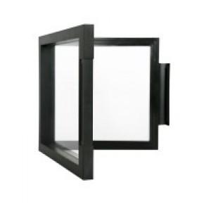 NIMBUS 70, schwarz (150 x 150 x 25 mm)