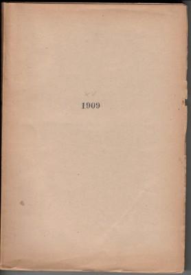 Revue Suisse de Numismatique 1909 (antiquarisch)