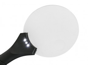 Randlose LED-Leuchtlupe