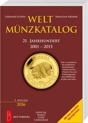Weltmünzkatalog 21. Jahrhundert 2001-2015