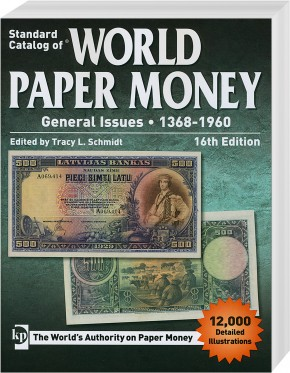 Standard Catalog of WORLD PAPER MONEY 1368-1960 16. Auflage