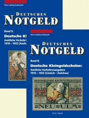 Deutsches Notgeld Band 5+6, Deutsche Kleingeldscheine 1916-1922