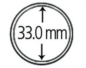 Münzendosen (Münzkapseln) 33 mm