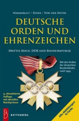 Deutsche Orden und Ehrenzeichen 1933 - heute